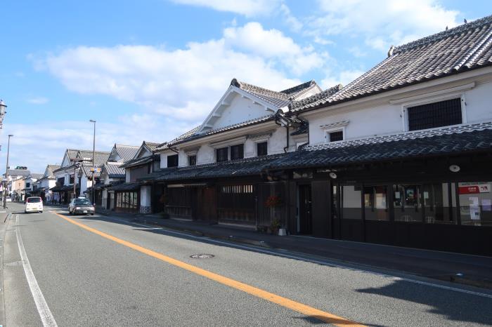 白壁の町並み・在郷町うきは市筑後吉井伝統的建造物群保存地区