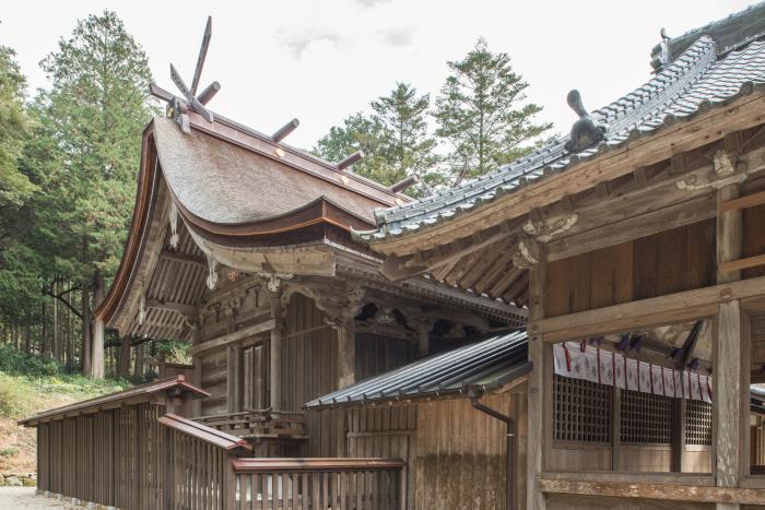 県指定 高祖神社本殿・拝殿