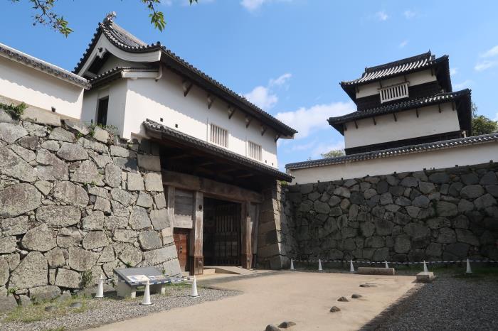 県指定 福岡城下之橋御門