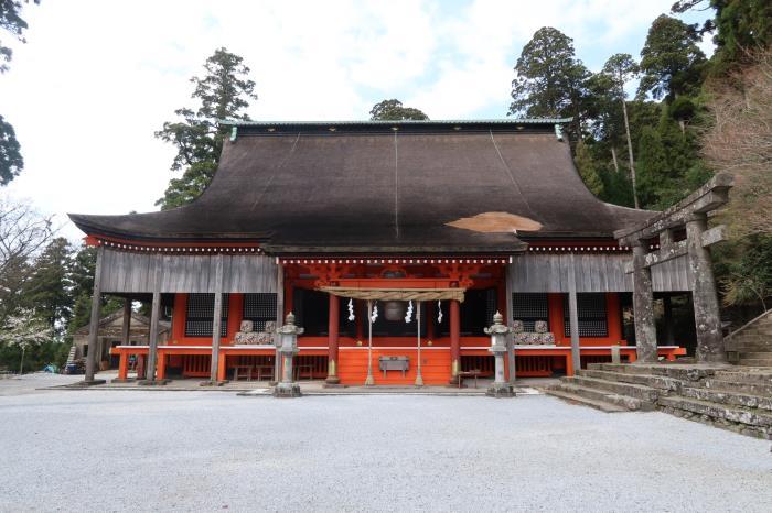 重要文化財(建造物)英彦山神社奉幣殿